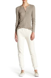 Atm Anthony Thomas Melillo Brushed French Terry Jogger Pant Brown