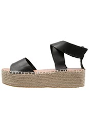 Marc O'polo Platform Sandals Black