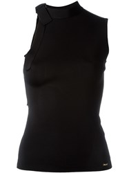 Dsquared2 Bow Detail Sleeveless Top Black