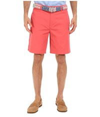 Vineyard Vines 9 Classic Summer Club Shorts Jetty Red Men's Shorts Black