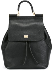 Dolce And Gabbana 'Sicily' Backpack Black