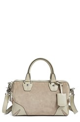 Rag And Bone Rag And Bone 'Small Flight' Suede And Leather Satchel