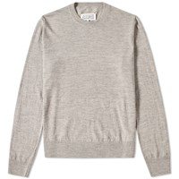 Maison Martin Margiela 14 Elbow Patch Crew Knit Grey