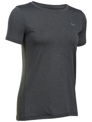 Under Armour Crew Neck Short Sleeve Training Top Grey Black