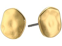 Lauren Ralph Lauren Amalfi Coast Small Organic Disk Stud Earrings Gold Earring