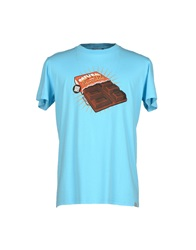 Madson Discount T Shirts Sky Blue