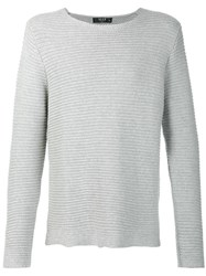Neuw Crew Neck Jumper Grey