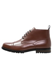 Peter Werth Hardy Laceup Boots Tobacco Tan
