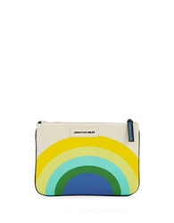 Jonathan Adler Sunrise Pouch Natural Multi