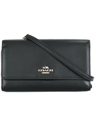 Coach Enlonguated Small Crossbody Bag Black