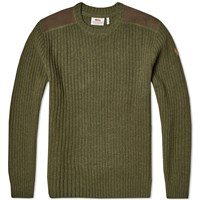 Fjall Raven Fjallraven Sarek Knit Sweater Green
