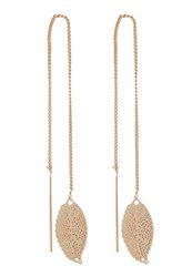 Selected Femme Sfdezzle Earrings Goldcoloured