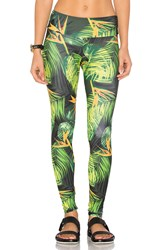 Onzie Long Leggings Green