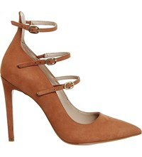 Office Noted Triple Strap Nubuck Courts Camel Nubuck