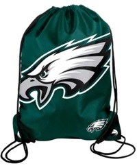 Forever Collectibles Philadelphia Eagles Big Logo Drawstring Bag Team Color