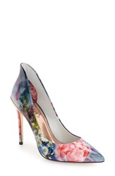 Ted Baker Women's London 'Savenniers 2' Pointy Toe Pump 4 3 4 Heel