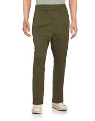 Laboratory Lt Man Elastic Waist Pant Military Green