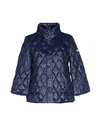 Yes Zee By Essenza Coats And Jackets Down Jackets Women Dark Blue