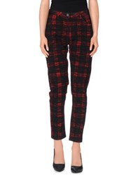 Maison Scotch Trousers Casual Trousers Women Red