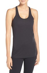 Under Armour Women's 'Bolt' Graphic Racerback Tank Black Reflective