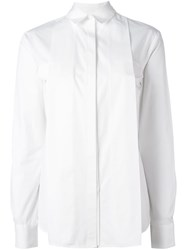 Chalayan Concealed Pocket Shirt White
