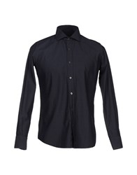 Massimo Rebecchi Shirts Shirts Men Dark Blue
