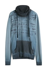 Desigual Man Sweatshirt Blue