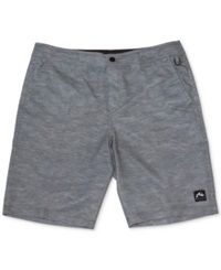 Rusty Smasher Printed 20' Hybrid Shorts Charcoal