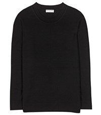 Balenciaga Wool And Cashmere Sweater Black