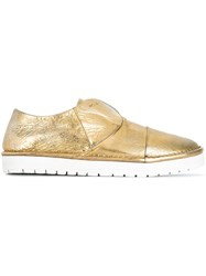 Marsell Metallic Slip On Shoes