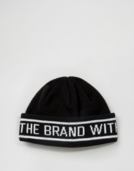 Adidas Originals Beanie With Taping In Black Ay9078 Black