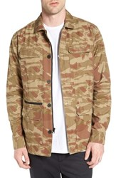 Tavik Men's 'Isle' Camo Print Military Jacket
