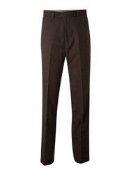 Skopes Titan Flat Front Trousers Brown