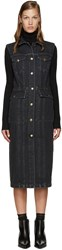 Acne Studios Black Denim Genta Dress