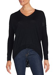 Zadig And Voltaire Solid Wool Sweater Black
