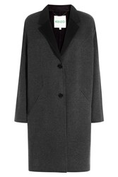 Kenzo Coat With Wool And Cashmere Grey