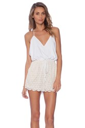 6 Shore Road Malay Lace Romper White