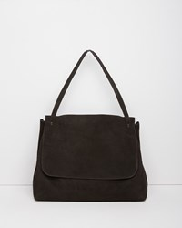 The Row Top Handle 14 Bag Black