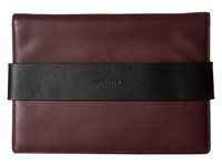 Kendall Kylie Azuba Clutch Red Plum Clutch Handbags