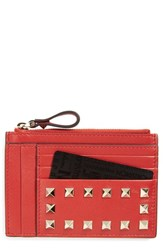 Valentino Women's Rockstud Leather Coin Pouch