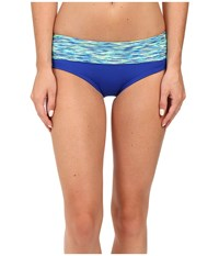 Tyr Sonoma Active Banded Bottom Royal Women's Swimwear Navy