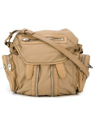 Alexander Wang 'Marti' Backpack Nude And Neutrals