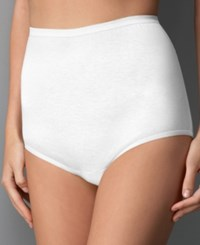 Vanity Fair Perfectly Yours Cotton Classic Tailored 15318 Star White