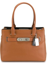 'Swagger' Tote Brown