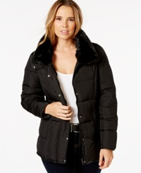 Junarose Plus Size Down Puffer Coat Black