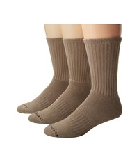 Carhartt Work Wear Cushioned Crew Socks 3 Pack Khaki Men's Crew Cut Socks Shoes