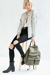Urban Outfitters Canvas Army Backpack Green