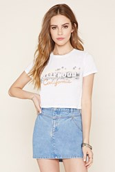 Forever 21 Hollywood Graphic Crop Top