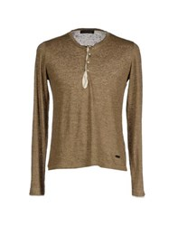 Gold Case By Rocco Fraioli Topwear T Shirts Men Khaki