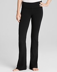 So Low Basic Foldover Pants Black